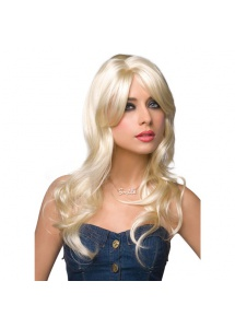 Peruka Pleasure Wigs - model Jessie Wig Platinum Blonde