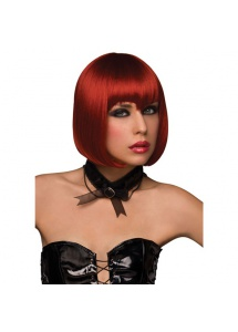 Peruka Pleasure Wigs - model Vamp Wig Burnt Red