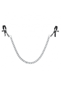 Zaciski na sutki - S&M - Chained Nipple Clamps