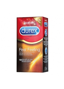 Prezerwatywy nielateksowe - Durex Real Feeling Condoms 10 szt