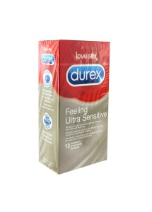 Prezerwatywy super cienkie - Durex Feeling Ultra Sensitive Condoms 12 szt
