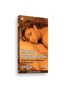 DVD edukacyjne - Alexander Institute The Art of Advanced Oral Educational DVD - Seks oralny dla zaawansowanych