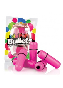 Wibrator mini - The Screaming O Color Pop Bullets Pink