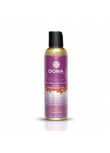 Olejek do masażu  nuru lomi lomi- Dona Scented Massage Oil 125 ml Tropikalny