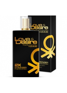 Perfumy z feromonami Love and Desire PREMIUM EDITION męskie - 100 ml