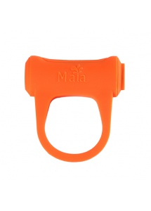 Pierścień wibrujący na penisa - Maia Toys Rechargeable Vibrating Ring Orange