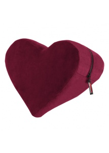 Podparcie serce do seksu - Liberator Heart Wedge Merlot