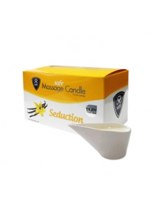 Świeca do masażu waniliowa - Safe Massage Candle Seduction Vanilla Wanilia
