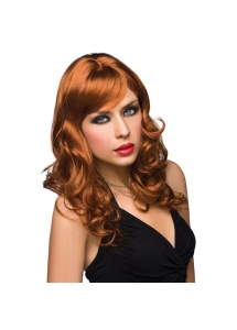 Peruka Pleasure Wigs - model Aubrey Wig Red