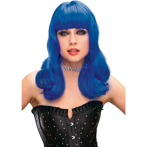 Peruka Pleasure Wigs - model Perry Wig Blue