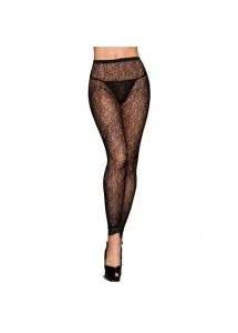 Rajstopy  bez stopek - Footless Tights Black Ivy