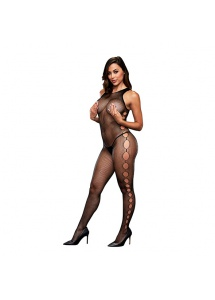 Bodystocking otwarte bokiem - Baci Open Side Sleeveless Bodystocking