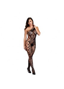 Bodystocking odkrywające ramię - Baci Off the Shoulder Bodystocking