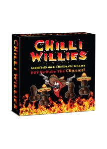 Czekoladki peniski z chilli - Chocolate Chilli Willies