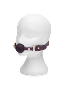 Knebel z opaską - Fifty Shades of Grey Freed Cherished Lim. Collection Leather Ball Gag