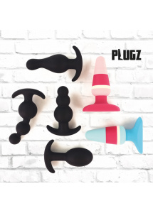Korek analny - FeelzToys Plugz Butt Plug Black Nr. 1