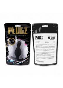 Korek analny - FeelzToys Plugz Butt Plug Black Nr. 2