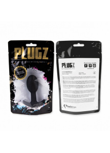 Korek analny - FeelzToys Plugz Butt Plug Black Nr. 3