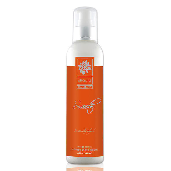 Krem do golenia intymnego - Sliquid Balance Smooth 255 ml Mango