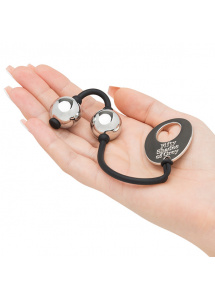 Małe kulki waginalne - Fifty Shades of Grey Inner Goddess Mini Silver Pleasure Balls 85g