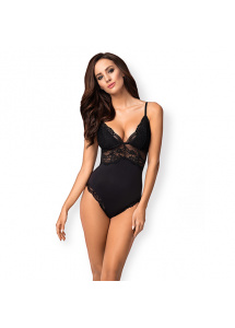 Zmysłowe body - Obsessive 810-TED-1 Teddy Black S/M
