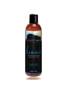 Olejek do masażu - Intimate Earth Massage Oil Heaven Hazelnut Biscotti 240ml