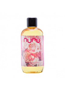 Olejek do masażu Różany - Nuru Massage Oil 250 ml Rose