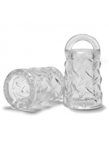 Pompka do sutek - Oxballs Gripper Nipple Puller Clear