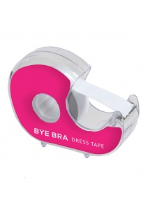 Taśma do stylizacji ubrań z dyspenserem - Bye Bra Dress Tape With Dispenser 3 metry