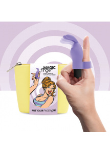 Wibrator na palec - FeelzToys Magic Finger Vibrator Fioletowy