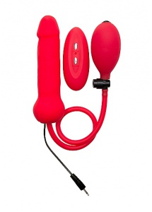 Ouch!  - Zdalnie sterowany wibrator pompowany - Inflatable Vibrating